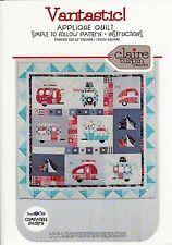 Vantastic Applique Quilt Pattern ~ Claire Turpin Design ~ Tent & RV Camping