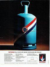 Publicité Advertising 037  1966   la bouteille Butagaz   butane propane