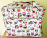 SEWING MACHINE BAG CARRY CASE STURDY VINYL Hoot, Woodland or Red Heart Designs