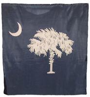 "US South Carolina Shower Curtain 70""x72"" 100% Polyester Bathroom Set with Hooks"