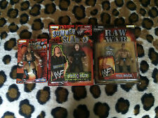 WWE lot of 3 figures 2 The Rock 1 Paul Wight WWF Ballers Dwayne Johnson big show