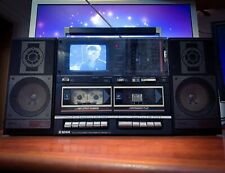 TENSAI RTC-8310 80's Vintage Ghetto Blaster Cassette Player TV Boombox 🔥RARE🔥