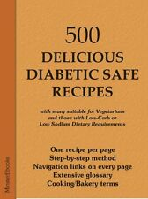 500 DELICIOUS DIABETIC RECIPES - Kindle eReader Mobi & PDF