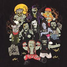 Zombie Super Stars Hulk Sting T-Shirt Wrestling WWF WWE ECW Small 2-sided Champ
