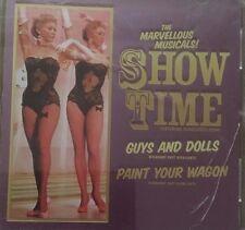 The Marvelous Musicals Show Time Guys & Dolls / Paint You Australian CD Album GC