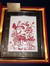 World Intangible Cultural Heritage-Zherong Paper Cutting Kong Chunxia Paper-Cut