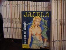 JACULA 1 / 87 ORIGINALI e PERFETTI - Edizioni RG, 1969 / 72 + le sei cartoline