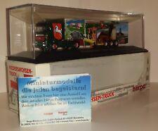 "Herpa 187824 Autoarticolato MERCEDES BENZ ""NIEDERSACHSEN-TRUCK "",  1/87"