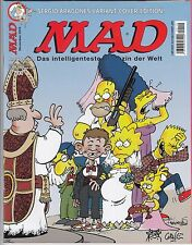 Mad # 136 Variant/Simpsons-COMIC ACTION 2010 ** firmati ** Corne-Top
