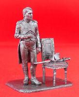 TIN 54 MM FIGURE FIGURINE TOY METAL MODEL Emperor Napoleon scale 1:32
