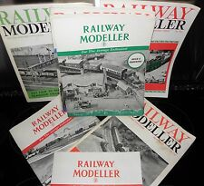 *Railway Modeller Enthusiast Magazines , 1950's-1970's - PB, Vintage Collectible