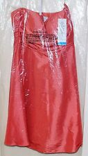 Bill Levkoff Formal Wedding Bridesmaid Prom Evening Dress Size 16 382 TERRACOTTA