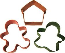 Wilton Gingerbread 3 Piece Cookie Cutter Set