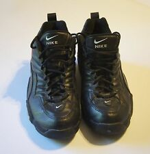 Vintage Nike Uptempo Black, Red & White High Top Shoes - Size 12 - 08-11-00