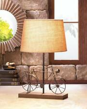 OLD~FASHION BICYCLE TABLE LAMP DECOR~10017902