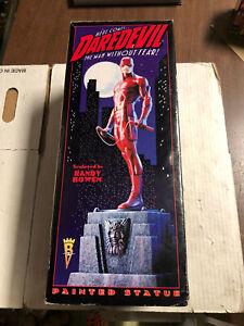 Bowen Designs Marvel Limited DAREDEVIL Statue 1998 Red Version #1977/4000