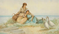 F.E. Jamieson (1895-1950) - Signed Early 20th Century Watercolour, A Honking Day