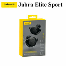 Jabra Elite Sport Waterproof Earbuds w/ Portable Charging Case in Retail Box
