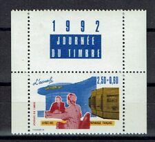 FRANCE TIMBRE - PAIRE 2744 + VIGNETTE H - JOURNEE DU TIMBRE 1992 - NEUF LUXE **