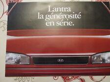CATALOGUE AUTO : HYUNDAI : LANTRA ANNEES 1990