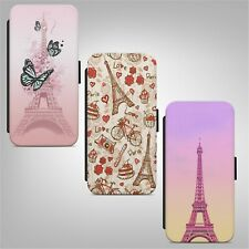 Paris Eiffel Tower France FLIP WALLET PHONE CASE COVER FOR IPHONE SAMSUNG HUAWEI