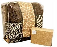 Zanzibar Animal Print Comforter Set in Multicolor - Full