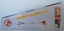Long Reaching Pick Up Tool/Grabber - no more bending on stretching!