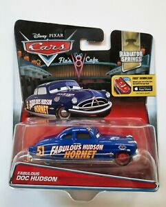 CARS Disney pixar 2016 FABULOUS DOC HUDSON  radiator mattel 1/55 maclama