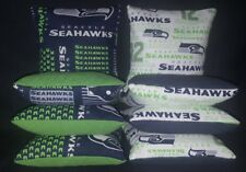Seattle SEAHAWKS Set Of 8 Corn Hole Bean Bags FREE SHIPPING!!!