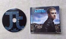 "CD AUDIO MUSIQUE / JUSTIN TIMBERLAKE ""JUSTIFIED"" 13T CD ALBUM 2002 RnB/Swing"