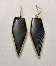 Black Onyx stone Dangles Kendra + Chloe Dangle  Fashion Isabel Scott