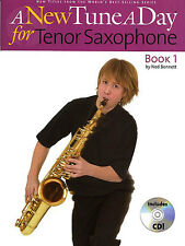 A New Tune A Day for TENOR Saxophone Sax Book 1 + CD