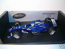 F1 PEUGEOT PROST AP03 HEIDFELD  ANNEE 2000 1/18 minicha