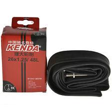 Kenda MTB Bike Bicycle Inner Tube 1Pcs 26''×1.25 Presta Valve 48mm
