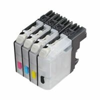 4 Empty Refillable ink cartridge for Brother LC103 MFC-J875DW J870DW