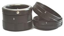 Macro Extension Tube Ring Set Canon 350D 600D 700D 50D 60D 70D 7D 5D 5DII 5DIII