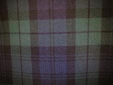 Tartan Fabric polyviscose 150cm Larghezza 17 stili avvalersi Design 1 venduto al metro
