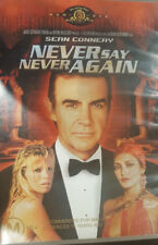NEVER SAY NEVER AGAIN DELETED RARE OOP PAL DVD SEAN CONNERY JAMES BOND 007