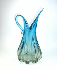 Große schwere Murano Vase 1950er Jahre