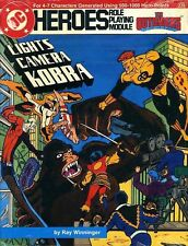 Lights Camera Kobra Sealed New 231 Dc Heroes Superhero Roleplaying Super Module