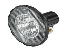 Prophete Fahrradlicht Silber mit Halter Fahrrad Frontscheinwerfer Fahrradlampe