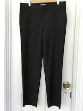 f80bfedd39b Gap Boy Fit Womens Size 4 Stretch Trousers Pants Slacks Gray Plaid