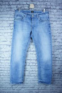 LEE - DAREN - Mens Slim Fit Stonewashed Jeans - W34 L32 - VGC