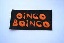 Oingo Boingo Embroidered Iron-On Punk Rock New Wave Band Rare Patch Badge 80s