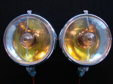 "MARCHAL 672/682 (5-3/4"") FOG LIGHTS WITH 12V. 55 WATT AMBER BULBS"