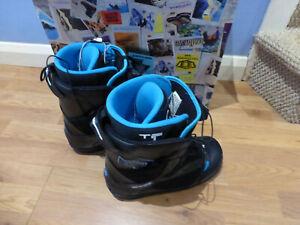 NORTHWAVE FREEDOM SL BLACK SNOWBAORDING BOOTS UK 8 EU42.5 SKIING