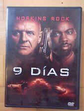DVD 9 Dias.Anthony Hopkins,Chris Rock
