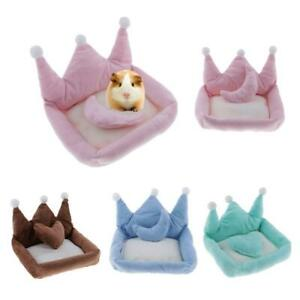 Cute Crown Shape Dog Sleeping Bed Cozy Winter Warm Cat Dog House