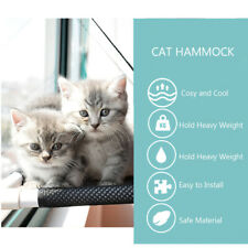 Cat Window Perch Hammock Bed Cooling Breathable Deck Window Suction Cups L7E0