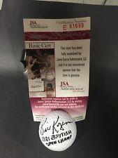 Bill Rogers Signed Golf Ball AUTO Autograph JSA COA